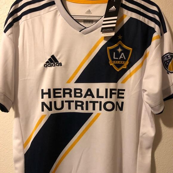 low priced b99e9 3b649 17/18 LA Galaxy Home Jersey #9 Ibrahimovic NWT